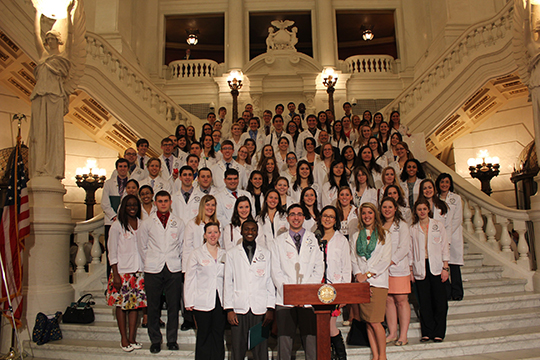 University of Pittsburgh Students Participate in Pharmacy Legislative Day