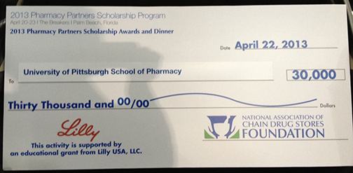 School of Pharmacy Receives NACDS Foundation Pharmacy Partners Scholarship Award