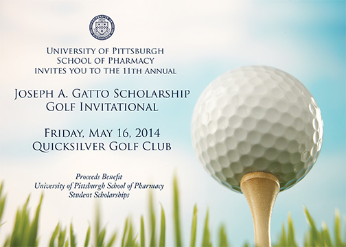 PittPharmacy 11th Annual Joseph A. Gatto Golf Invitational