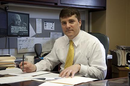 Chancellor's Distinguished Teaching Awardee Samuel M. Poloyac