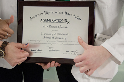 RxGeneration Award Goes to PittPharmacy