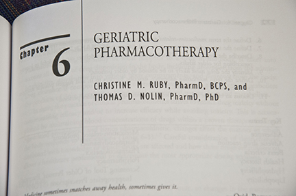 Geriatric Pharmacotherapy Chapter Editors Christine Ruby and Thomas Nolin