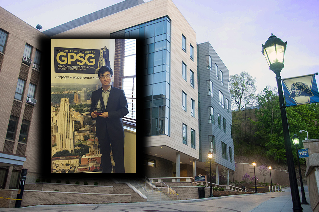 Tao Long Receives GPSG Leadership and Service Award