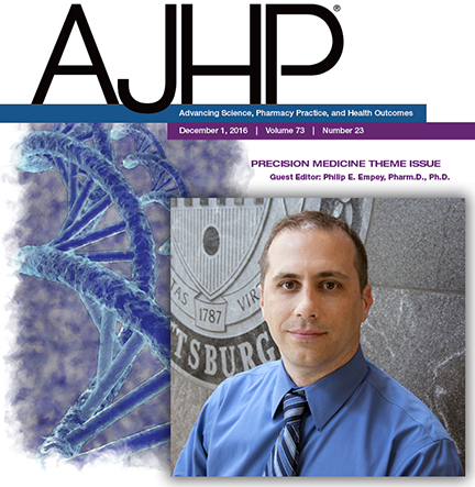 PittPharmacy's Philip Empey Selected as AJHP Editor