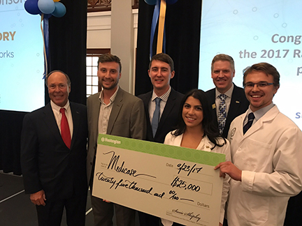 PittPharmacy Students on Winning Big Idea Competition Team