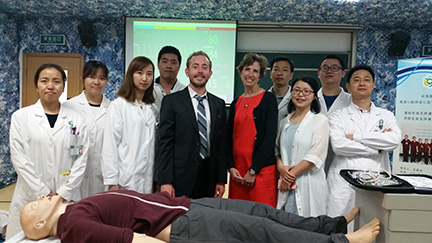 Berenbrok and Johnson Present Studies in China