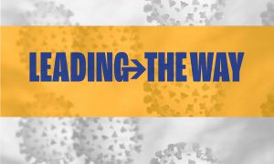COVID-19 Leading The Way logo