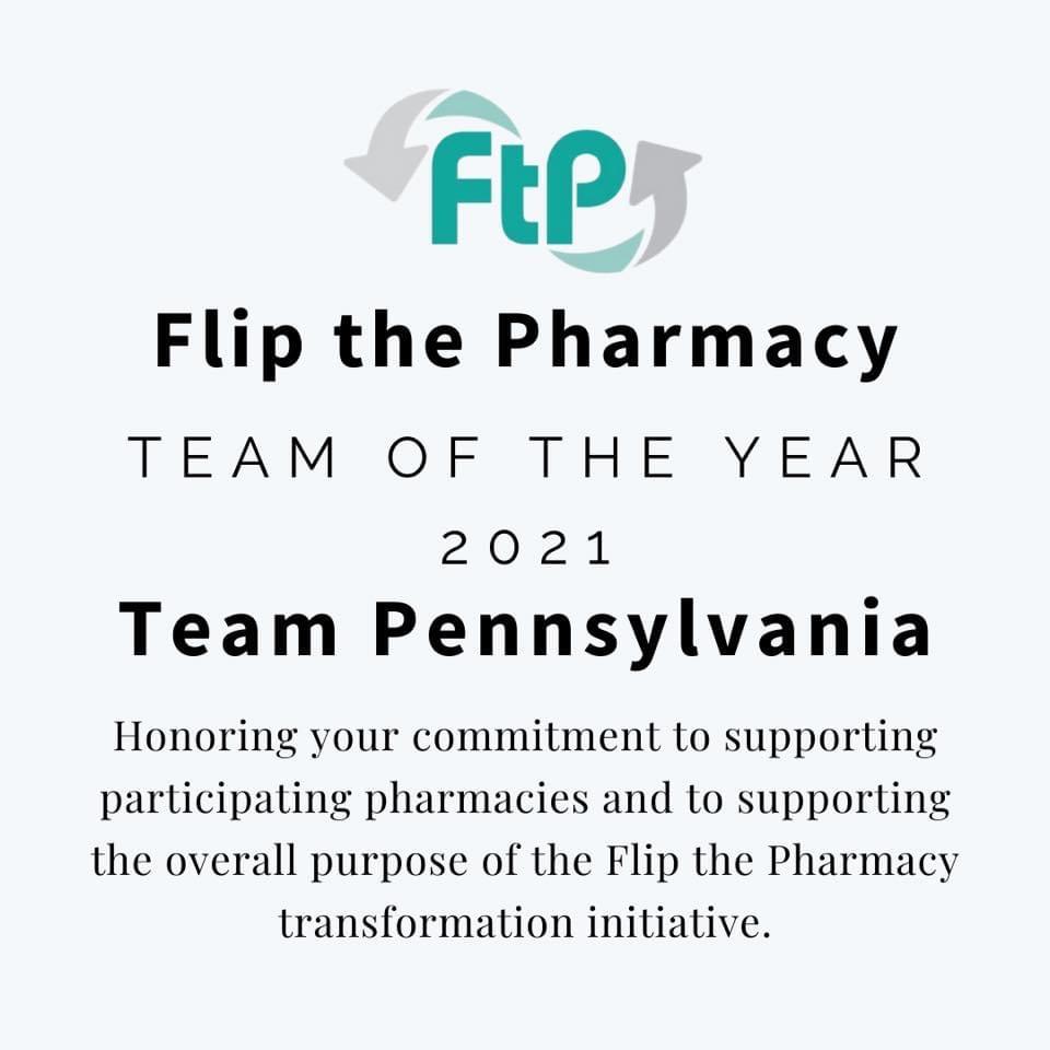 Description Flip the Pharmacy Award