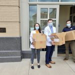 Patrick Pugliese and Students - Pfizer Hub University Pharmacy